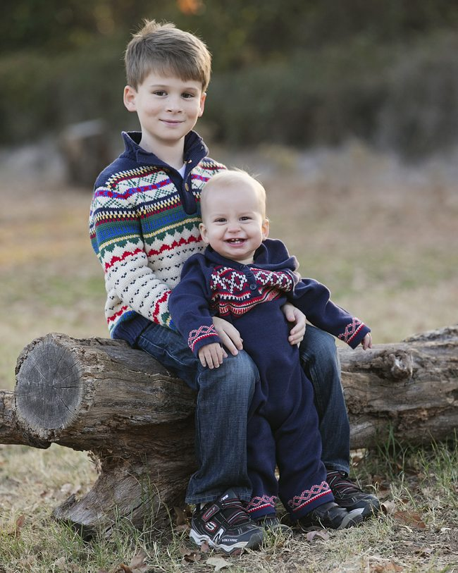 Family Photographer in Denton (This portrait created in Southlake)