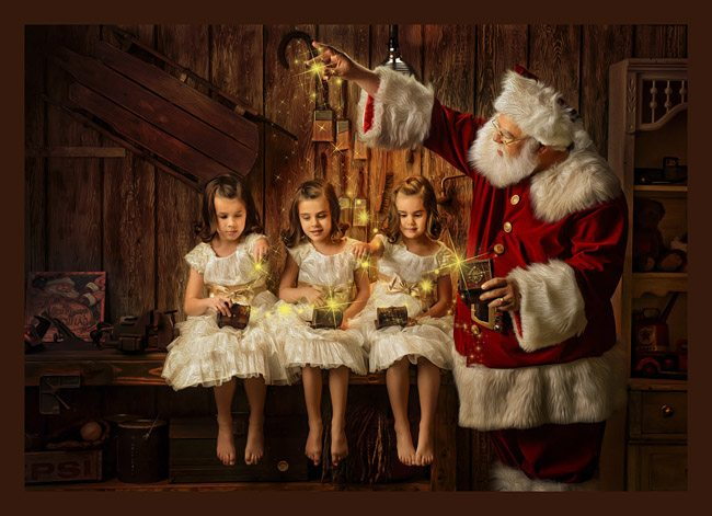 Santa Experience in Denton Texas