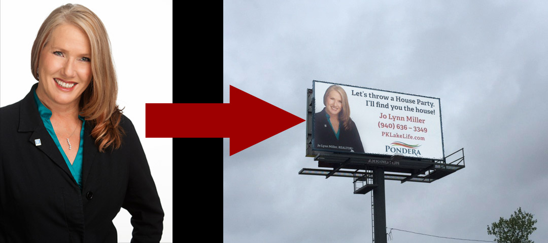 Real Estate Agent Headshot and Billboard Marketing
