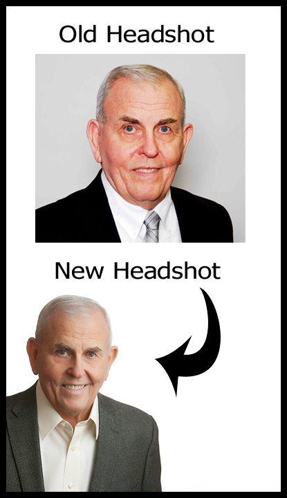PREVIOUS HEADSHOT & NEW HEADSHOT